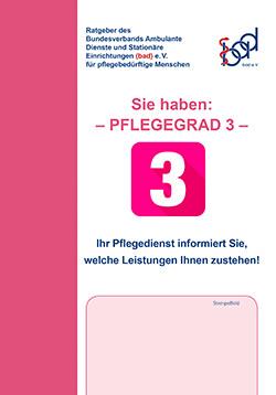 Ratgeber Pflegegrad 3 (ambulant)