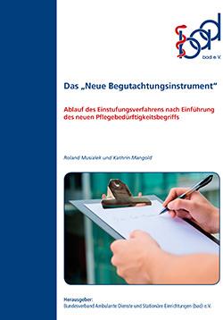 Broschüre Neues Begutachtungsinstrument