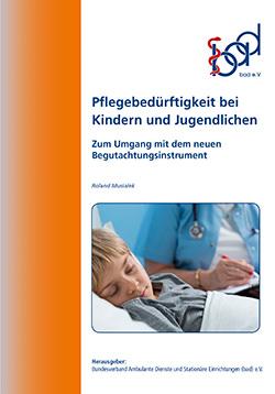 Broschüre Pflegebedürftigkeit bei Kindern und Jugendlichen