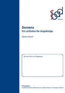 Ratgeber Demenz (ambulant)