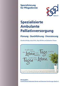 Broschüre Spezialisierte Ambulante Palliativversorgung