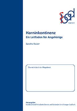 Ratgeber Harninkontinenz (ambulant)
