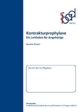 Ratgeber Kontrakturenprophylaxe (ambulant)