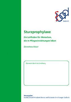 Ratgeber Sturzprophylaxe (stationär)